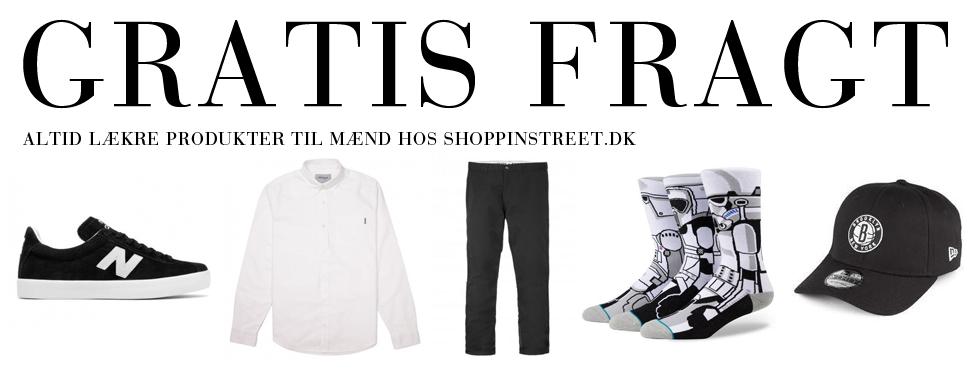 Herre modetøj tilbud- ShoppinStreet.dk - Aalborg shopping