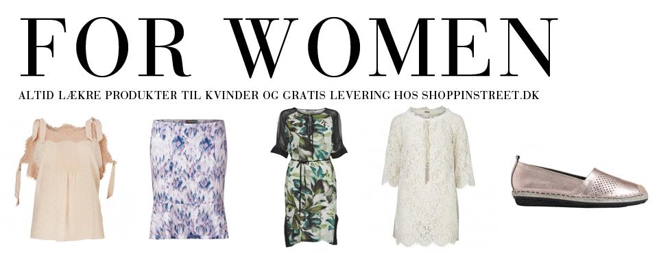 Kvinder modetøj - ShoppinStreet.dk - Aalborg shopping